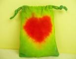 Batika srdce pytlík