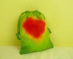Sáček na poklady Zelené srdce