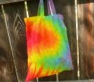 Taška nákupní do ruky Rainbow duo
