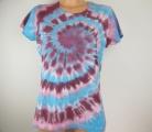 Dámské batikované tričko Šeřík, XL