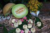 Meloun žlutý+mimóza - šumivá bomba do koupele