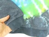 Batikovaná mikina duhová Fénix, L Šťastní lidé-M