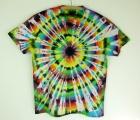 Batikované tričko duhové Imagination XXL