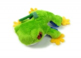 Žabka - žába plyšová malá 11 cm - klíčenka