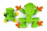 Žabka velká a žabka malá plyšová