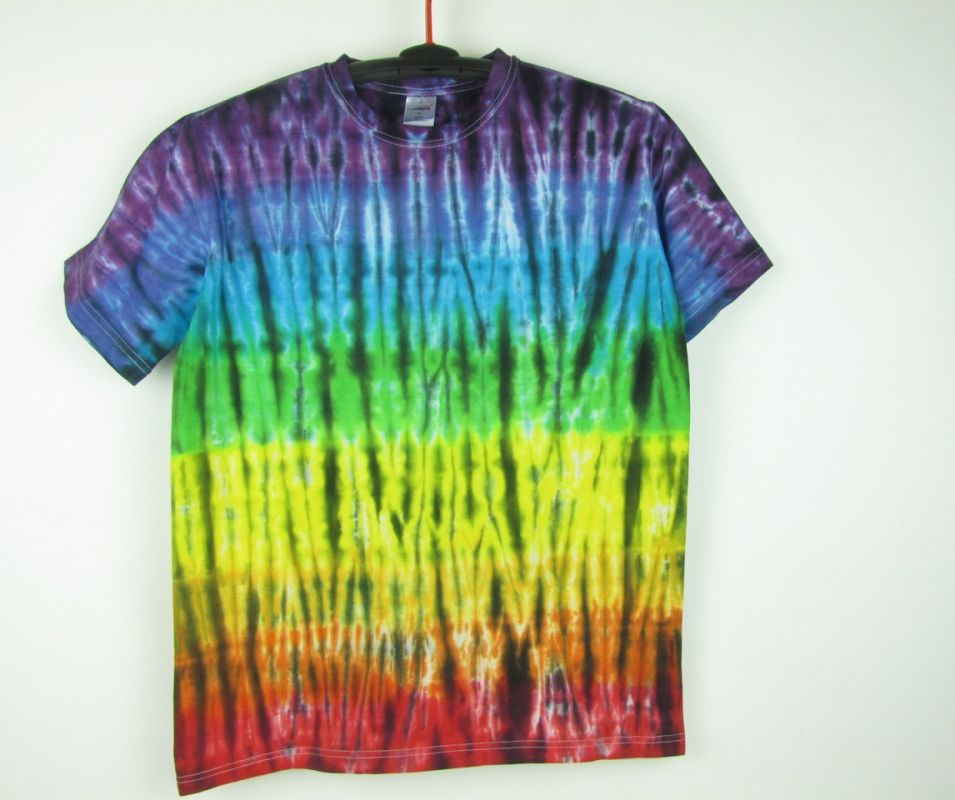 Batikované tričko Rainbow energy