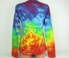 Dámské tričko Duhová fantazie batika