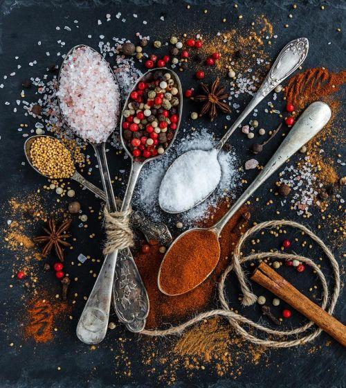 Sůl a koření