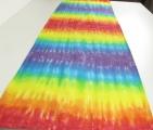 Ubrus - běhoun batika Duhová, 40x120