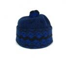 Zmijovka - čepice zmijovka tmavě modrá / černá velikost 26