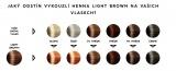 Light Brown - medová - vzorník