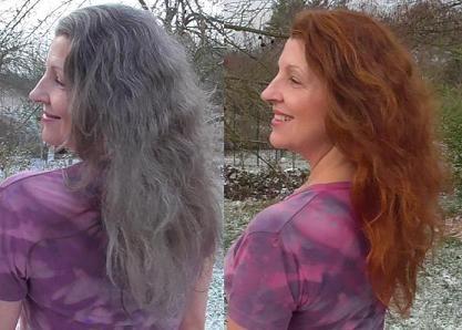 Barvení šedin přírodní cestou