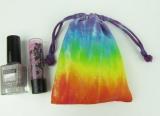 Sáček na poklady batika Barvy čaker, XS