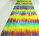 Ubrus běhoun batika Duhová magie, 40x120
