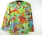 Batikované tričko Color mix, M