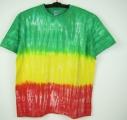 Batikované tričko Rasta, XL