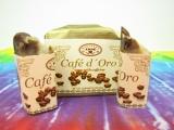 KOFEIN A KAKAO Café d´Oro povzbuzující a detoxikační mýdlo, 100g