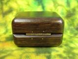 Dřevěná krabička (šperkovnice) ovengkol - zaoblená zezadu