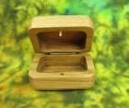 Šperkovnice dubová zaoblená otevřená