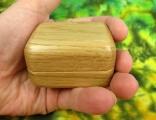 Šperkovnice dubová zaoblená