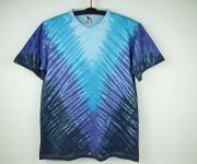 Batikované tričko Modré véčko