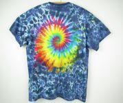 Batikované tričko Rainbow galaxy