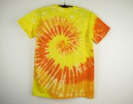Dětské batikované tričko Sluneční spirála