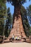 Monika s rodinou v Sequoia n.p.