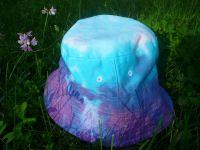 Modrý klobouček batika
