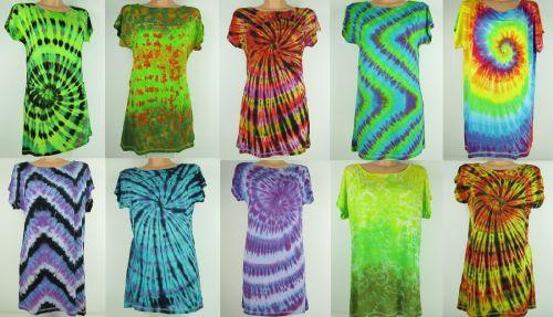 Letní batikované šaty
