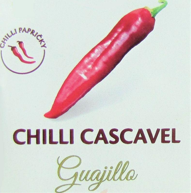 Chilli papričky Cascavel Guajillo