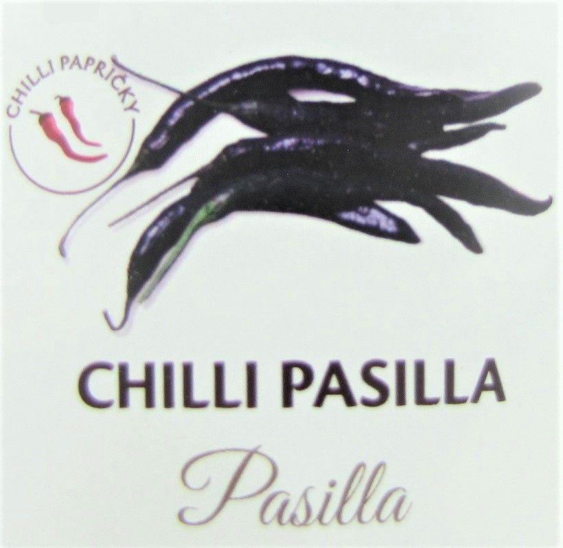 Chilli papričky pasilla