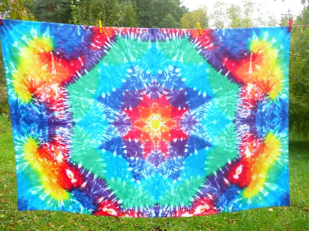 Mandala ubrus tapisérie dekorace batika