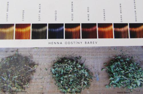 Voono Henna přírodní barva na vlasy