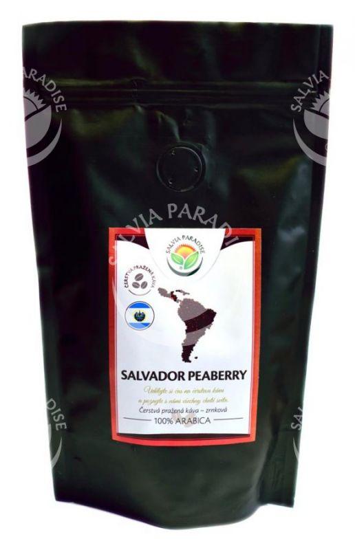 Plantážní zrnková káva Salvador Peaberry