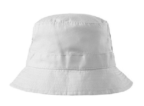 Bílý klobouček bez potisku