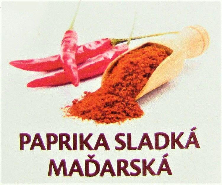Sladká paprika maďarská