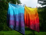 Sukně+top batika na objednávku