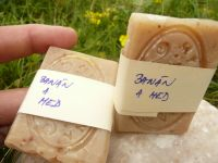BANÁN A MED - krémové zvláčňující mýdlo - 20g vzorek