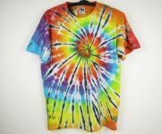 Batikované tričko Rainbow spider, XL