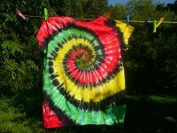 Dámské tričko batika Jamajka