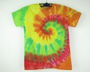 Dětské batikované tričko Happy, S