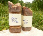 Kávové mýdlo přírodní