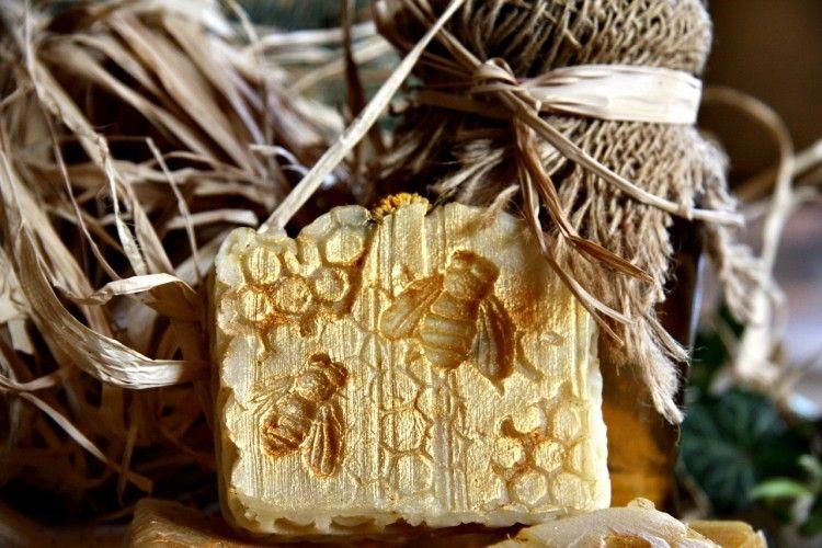Med vosk měsíček přírodní mýdlo