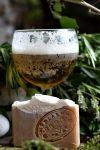 Pivo oves med přírodní mýdlo
