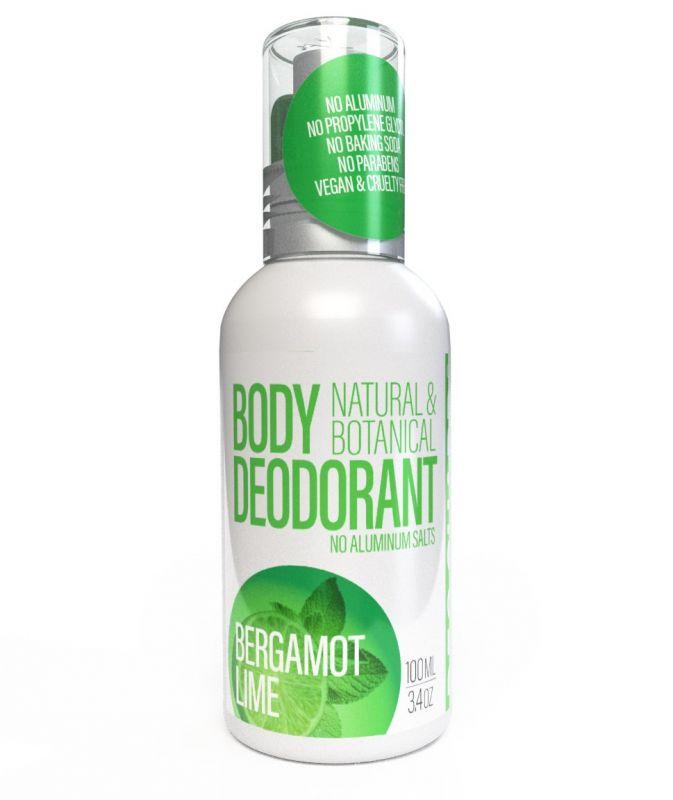 Přírodní deodorant ve spreji Bergamot a Limetka