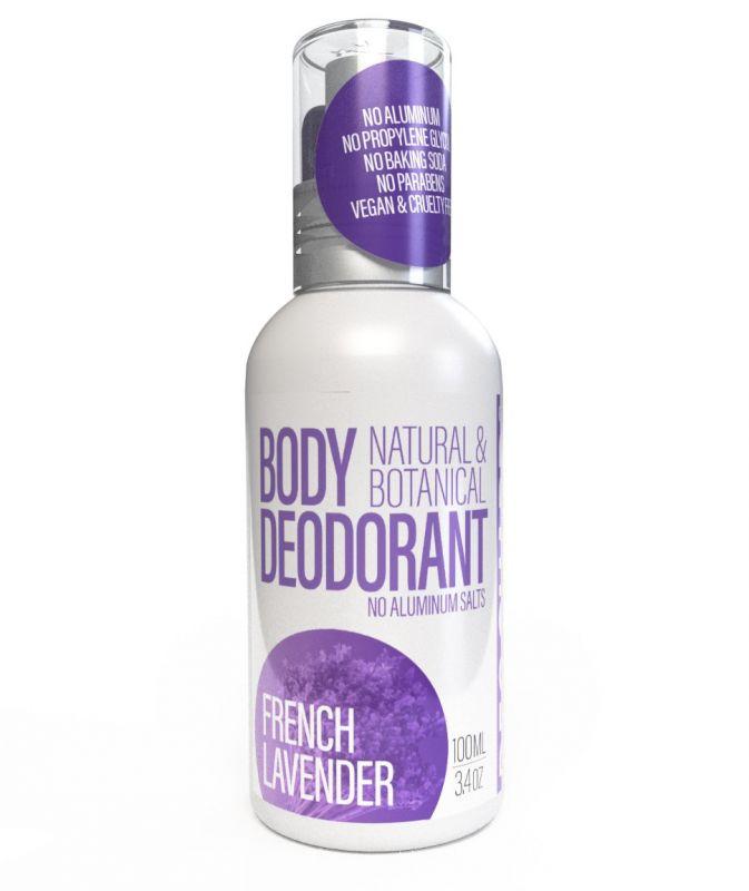 Přírodní deodorant ve spreji Levandule