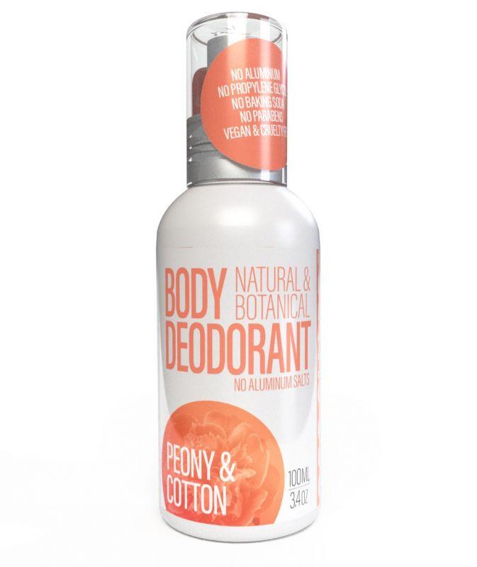 Přírodní deodorant Pivoňka a bavlna