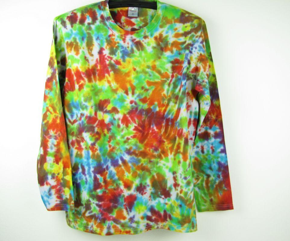 Batikované tričko Color mix
