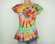 Dámské batikované tričko Candy, XL
